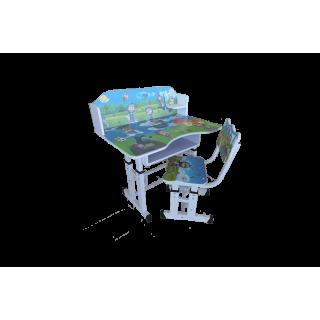 Парта и стул трансформер A609