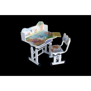 Парта и стул трансформер D07/1