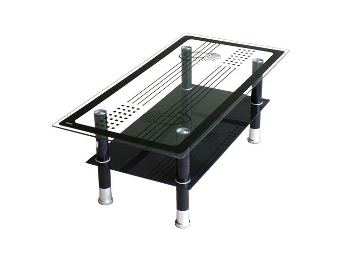 Журнальный стеклянный стол A22 main