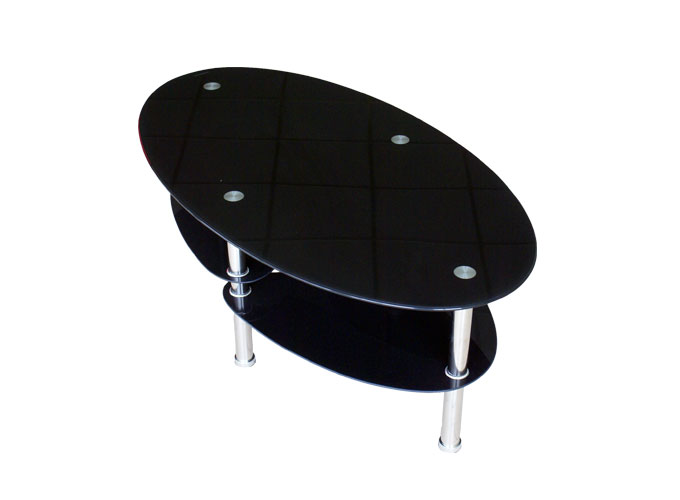 Журнальный стол В01 Черный