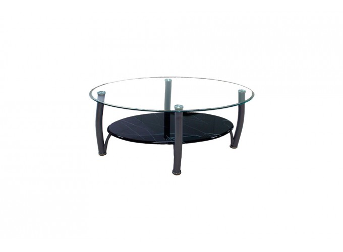 Журнальный стеклянный стол  В11 0