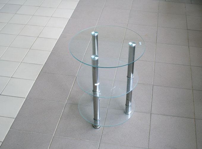 Журнальный столик из стекла D-1 0