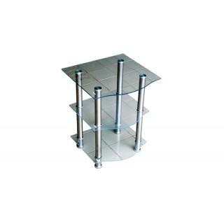 Журнальный стеклянный столик D-2