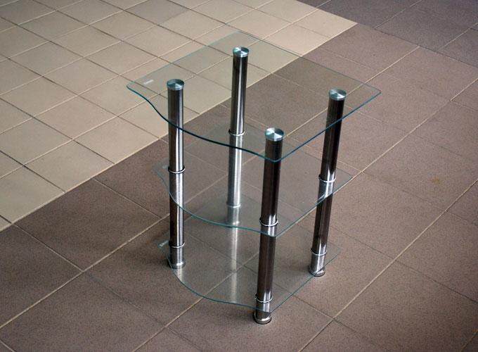 Журнальный стеклянный столик D-2 0