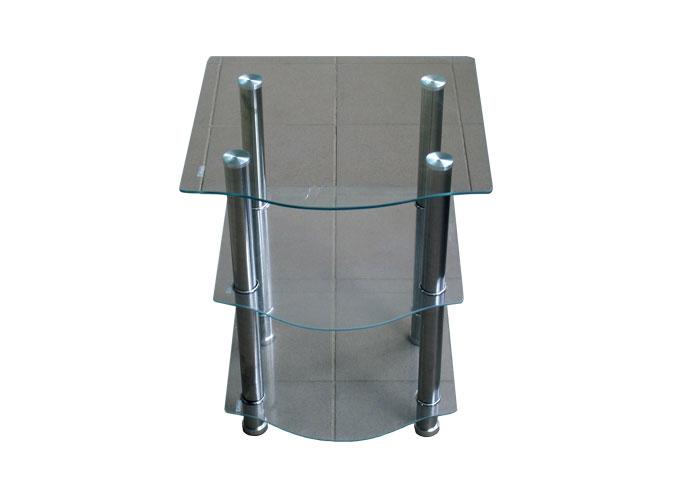 Журнальный стеклянный столик D-2 1
