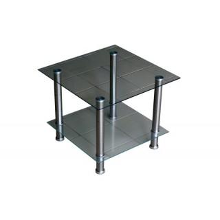 Журнальный стеклянный стол D-4