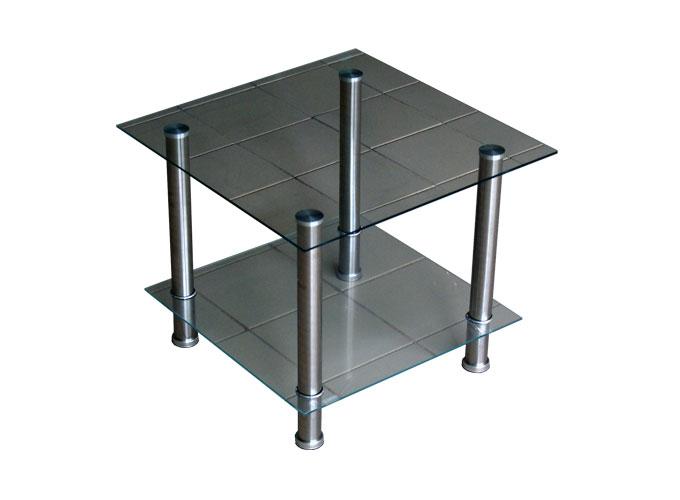 Журнальный стеклянный стол D-4 main