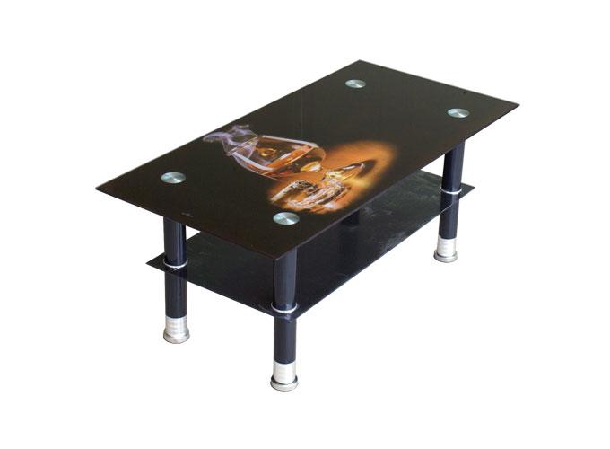 Журнальный стеклянный стол P503