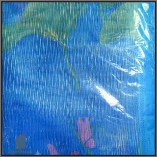Сетка дверная антимоскитная из полиэстера B04-BL (синяя; 100*210 см)