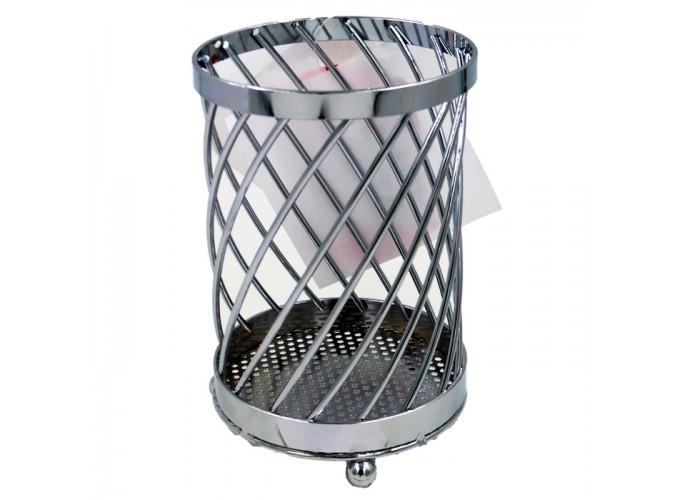 Подставка для столовых приборов из стальной проволоки с хромовым покрытием C2157