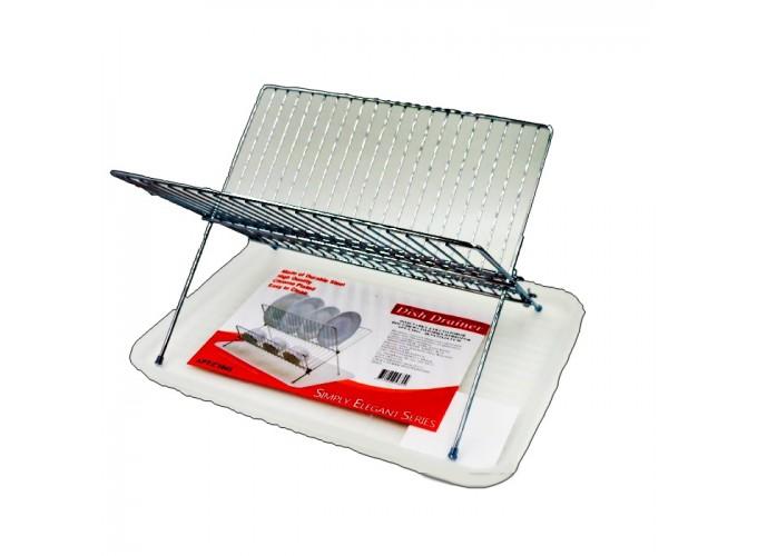Подставка для столовой посуды и столовых приборов из стали с хромовым покрытием C1042