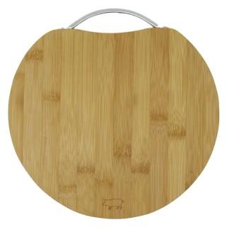 Доска разделочная из бамбука B3337S (круглая)