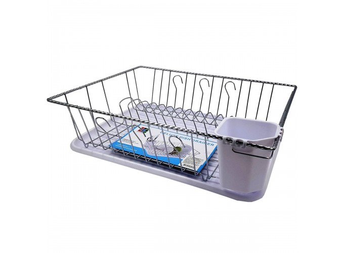 Подставка для столовой посуды из стали с хромовым покрытием DT-1015C