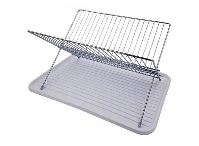 Подставка для столовой посуды из стали с хромовым покрытием DR-1031