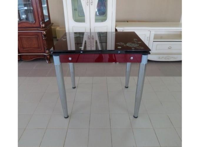 Стеклянный кухонный стол  6069-3 0