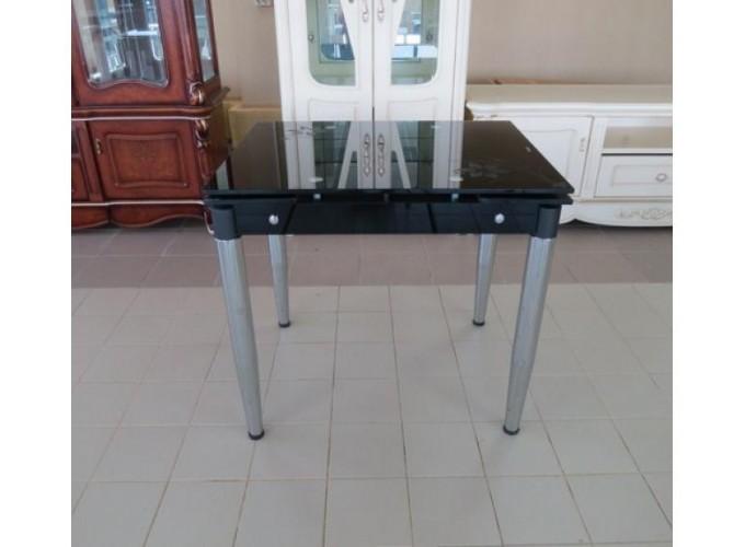 Стеклянный кухонный стол  6069-3 1
