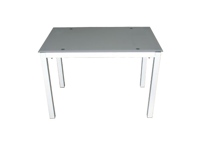 Стеклянный кухонный стол  А0121-117 Белый 0