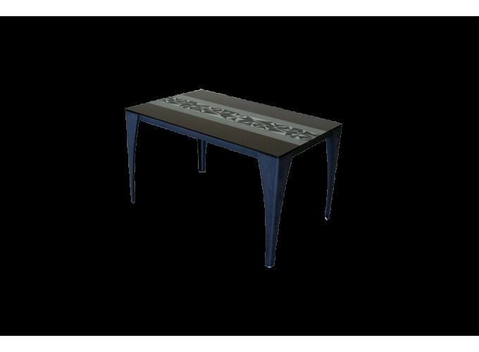 Стеклянный кухонный стол  А020