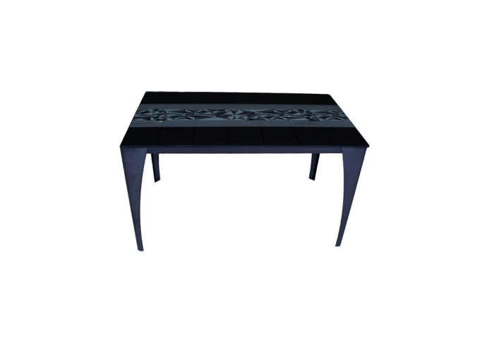 Стеклянный кухонный стол  А020 0