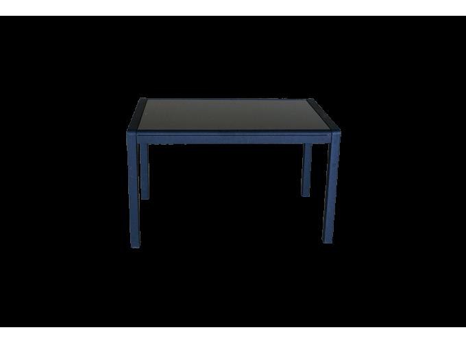 Стеклянный кухонный стол  А074 Черный 1