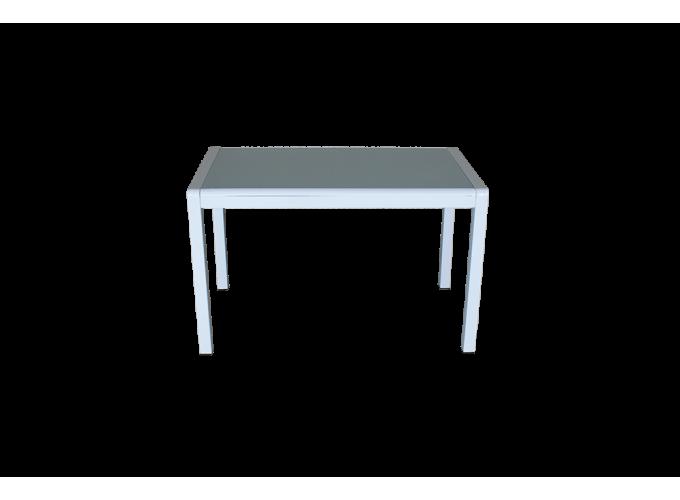 Стеклянный кухонный стол  А074 Белый 1