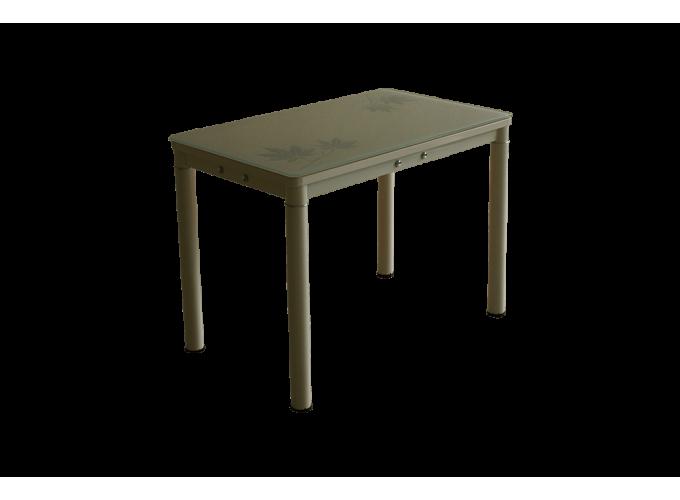 Стеклянный кухонный стол А59-106 Бежевый main