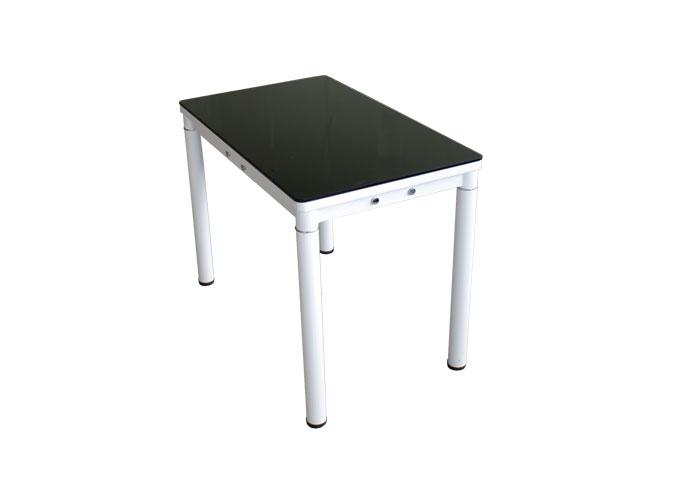 Стеклянный кухонный стол А59-106 Черный 1