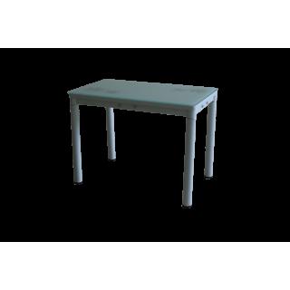 Стеклянный кухонный стол А59-106 Белый