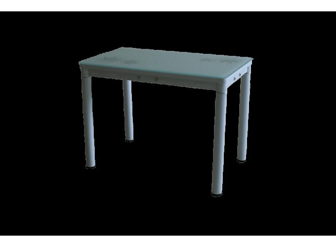 Стеклянный кухонный стол А59-106 Белый main