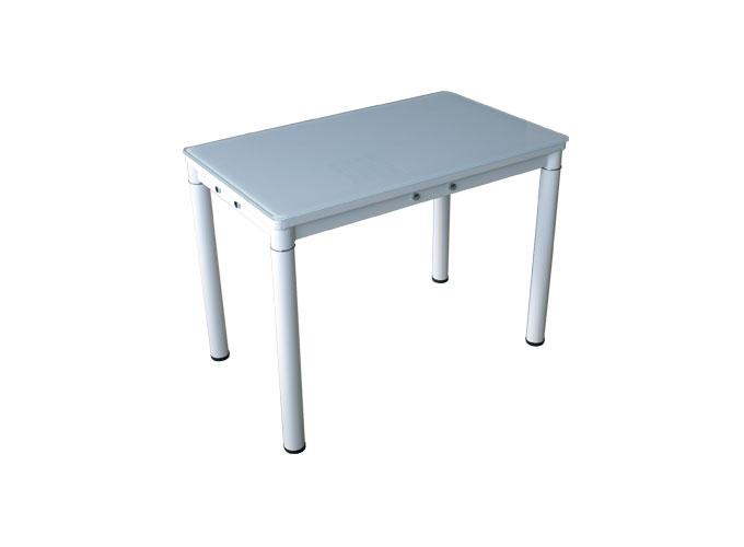 Стеклянный кухонный стол А59-106 Белый 0