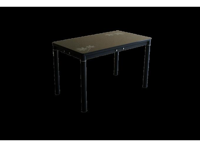 Стеклянный кухонный стол А59-127 Черный main