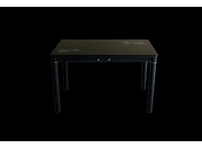 Стеклянный кухонный стол А59-127 Черный 0