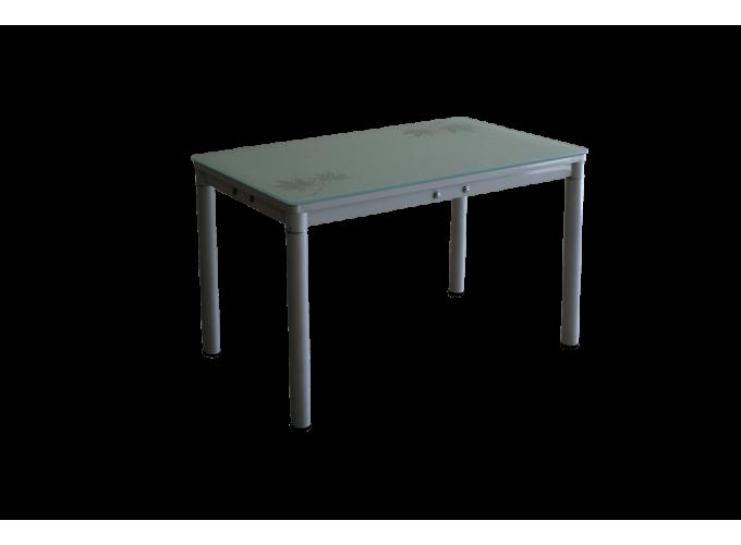 Стеклянный кухонный стол А59-127 Белый main