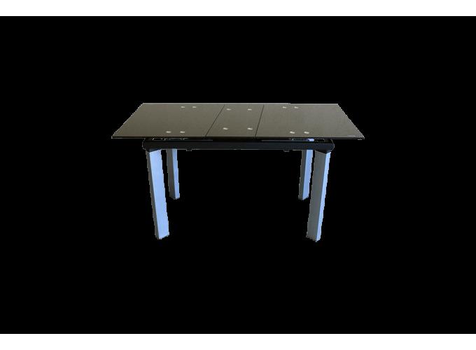 Стеклянный обеденный кухонный стол AD 32-1 Черный 2