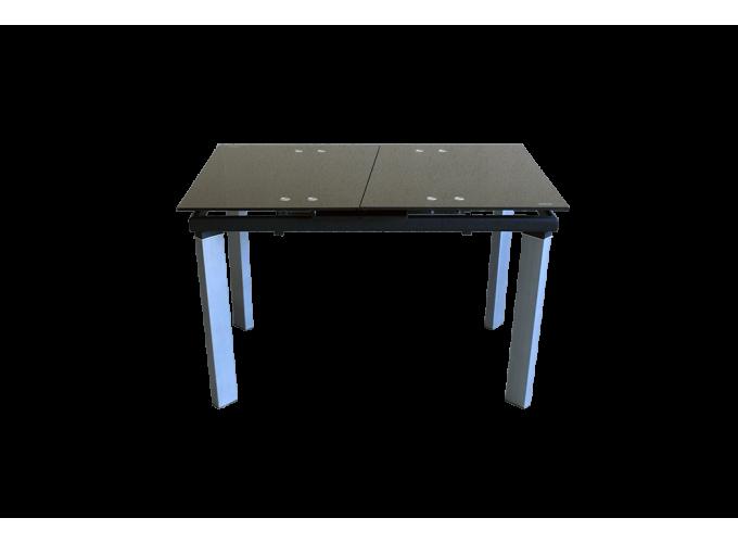 Стеклянный обеденный кухонный стол AD 32-1 Черный 0