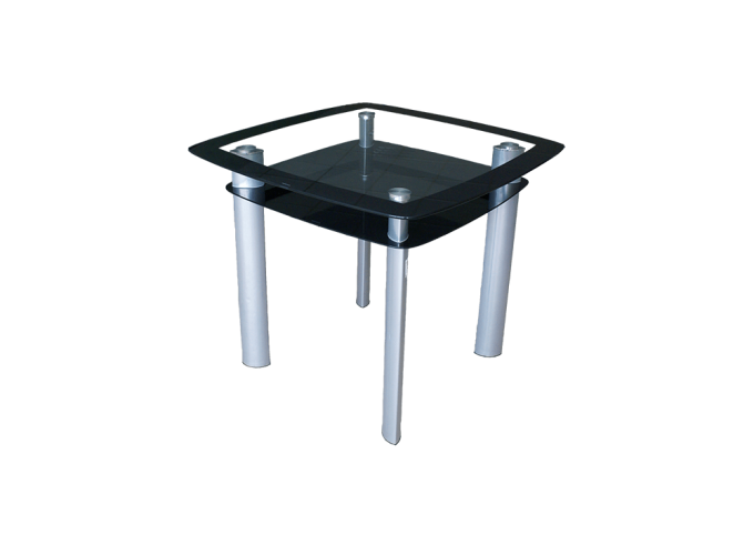 Стеклянный кухонный стол Барный main