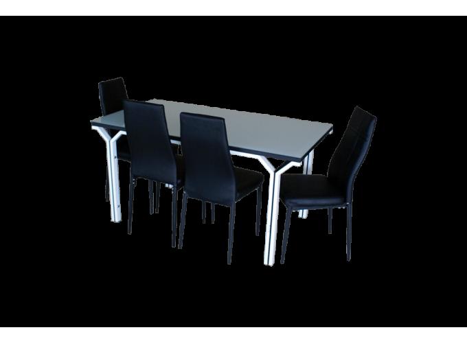 Стеклянный кухонный стол DT1100-158 0