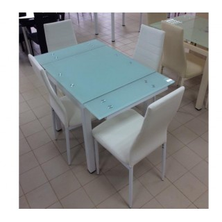 Стеклянный кухонный стол DT586-2B