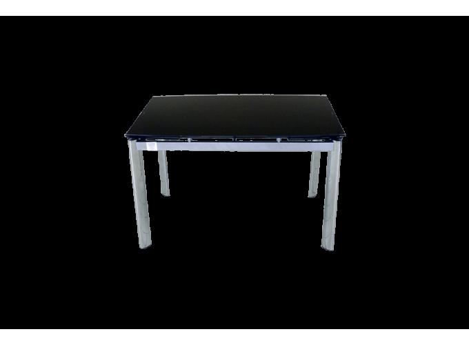 Стеклянный обеденный стол  В100-128 Черный 0