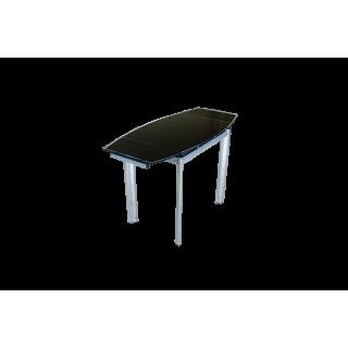 Стеклянный кухонный стол  В100-86 Черный