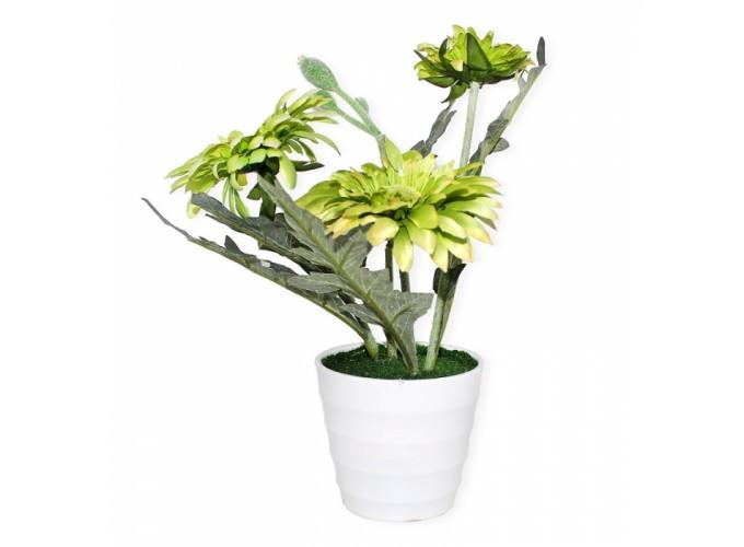 Цветы искусственные в горшке  Арт. jh-014047