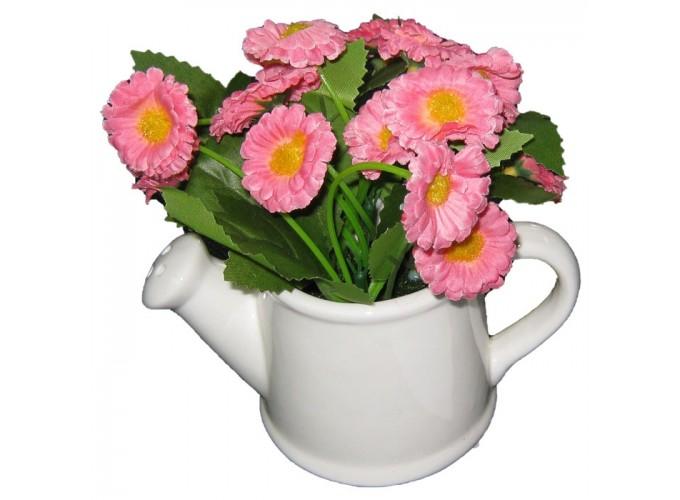 Цветы искусственные в горшке  из полимерных материалов Арт.L-1705