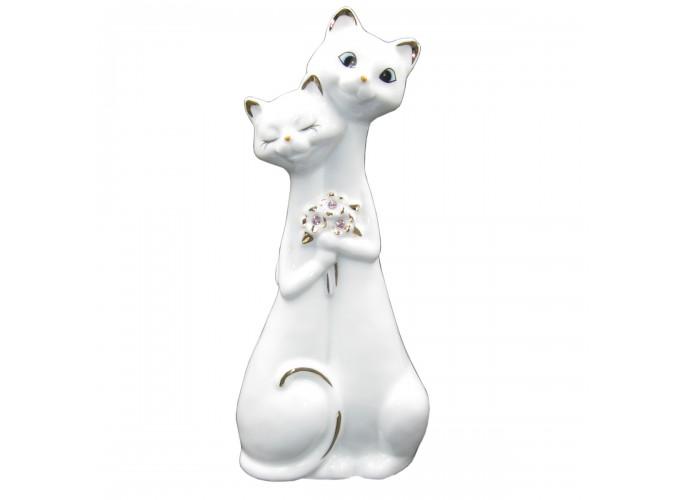 Статуэтка декоративная из фарфора  Арт.В2481 (коты)