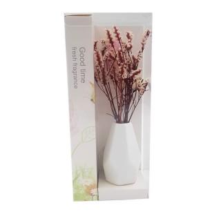 Цветы искусственные в вазочке из полимерных материалов  Арт.XH172A