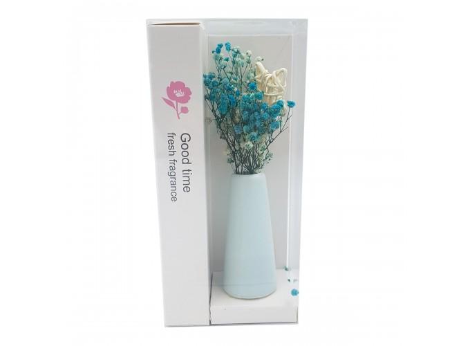 Цветы искусственные в вазочке из полимерных материалов  Арт.XH175 main