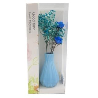 Цветы искусственные в вазочке из полимерных материалов  Арт.XH188