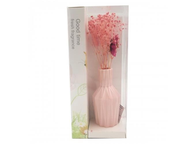 Цветы искусственные в вазочке из полимерных материалов  Арт.XH184